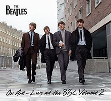 Обложка альбома The Beatles «On Air — Live at the BBC Volume 2» (2013)