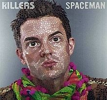Обложка сингла «Spaceman» (The Killers, 2008)