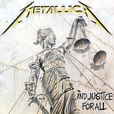 Обложка альбома Metallica «…And Justice For All» (1988)