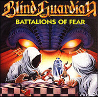 Обложка альбома Blind Guardian «Battalions of Fear» (1988)