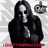 Обложка сингла «I Don't Wanna Stop» (Ozzy Osbourne, 2007)