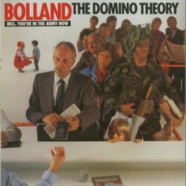 Обложка альбома Bolland & Bolland «The Domino Theory» (1981)