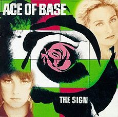 Обложка альбома Ace of Base «The Sign» (1993)
