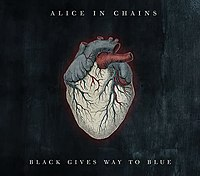 Обложка альбома Alice in Chains «Black Gives Way to Blue» (2009)