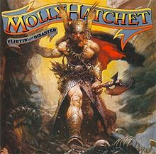 Обложка альбома Molly Hatchet «Flirtin' with Disaster» (1979)