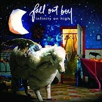 Обложка альбома Fall Out Boy «Infinity on High» (2007)