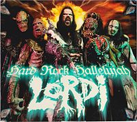 Обложка сингла «Hard Rock Hallelujah» (Lordi, 2006)