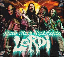 Обложка сингла Lordi «Hard Rock Hallelujah» (2006)