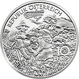 10 Euro - Charlemagne in the Untersberg(2010)front.jpg