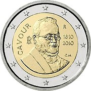 2€ commemorative coin Italy 2010.jpg