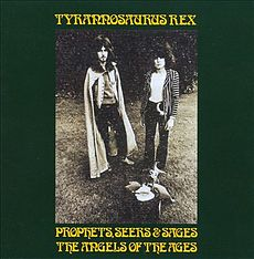 Обложка альбома Tyrannosaurus Rex «Prophets, Seers & Sages: The Angels of the Ages» (1968)