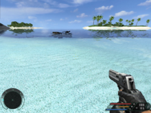 Far Cry 1 screenshot - mission01, beach.png