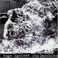 Обложка альбома Rage Against the Machine «Rage Against the Machine» (1992)