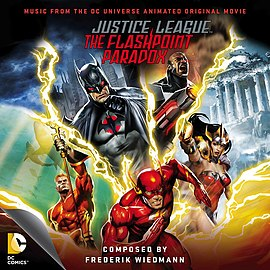 Обложка альбома «Justice League: The Flashpoint Paradox (Soundtrack from the DC Universe Animated Original Movie)[1]» ()