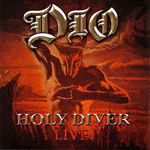 Обложка альбома Dio «Holy Diver – Live» (2006)