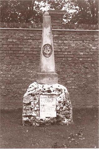 Могила Антонио Сальери на Центральном кладбище в Вене