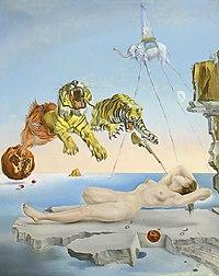 Сон, вызванный полётом пчелы вокруг граната за секунду до пробуждения (1944)