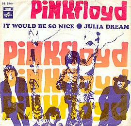 Обложка сингла Pink Floyd «It Would Be So Nice» (1968)