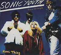 Обложка сингла «Kool Thing» (Sonic Youth, (1988))