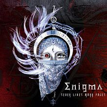 Обложка альбома Enigma «Seven Lives Many Faces» (2008)