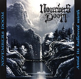 Обложка альбома Novembers Doom «Amid Its Hallowed Mirth» (1995)