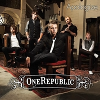 Обложка сингла «Apologize» (OneRepublic, 2006)