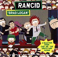 Обложка сингла «Brad Logan» (Rancid, (1998))