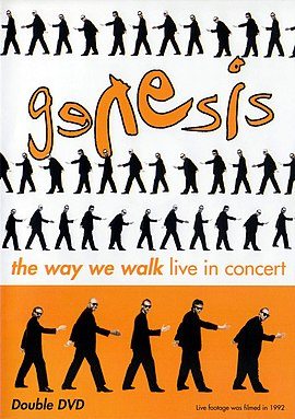 Обложка альбома Genesis «The Way We Walk — Live in Concert» (2002)