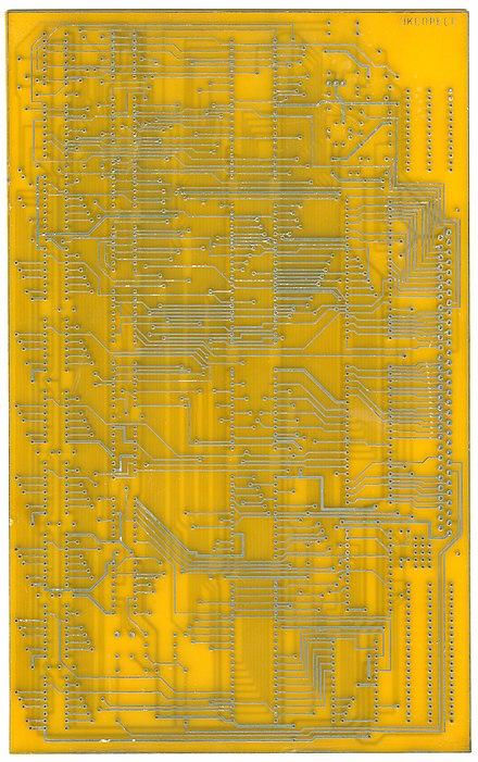 Печатная плата «Радио-86РК»