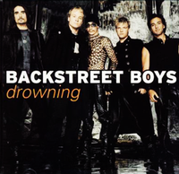 Обложка сингла «Drowning» (Backstreet Boys, 2001)