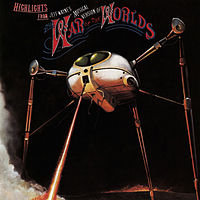 Обложка альбома Джеффа Уэйна «Jeff Wayne's Musical Version of The War of the Worlds» (1978)