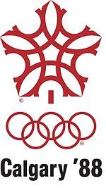 Эмблема Зимних Олимпийских игр 1988