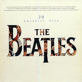 Обложка альбома The Beatles «20 Greatest Hits» (1982)