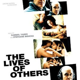 Обложка альбома Габриэля Яреда и Стефана Муша «The Lives of Others: Original Motion Picture Score» (2007)