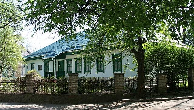 Житомирский дом, в котором прошли детские и ранние юношеские годы В. Короленко, с 1972 года— музей
