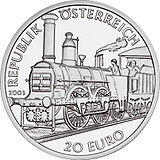2003 Austria 20 Euro The Biedermeier Period front.jpg