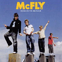 Обложка альбома McFly «Room on the 3rd Floor» (2004)