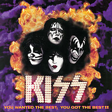 Обложка альбома Kiss «You Wanted the Best, You Got the Best!!» (1996)