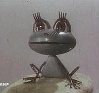Кадр из мультфильма Лягушонок ищет папу