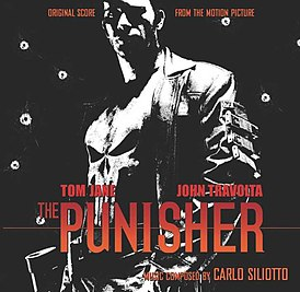 Обложка альбома Carlo Siliotto «The Punisher Official Soundtrack» ()