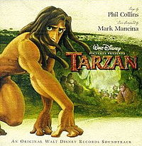 Обложка альбома  «Tarzan: An Original Walt Disney Records Soundtrack» (1999)