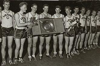 С какого года проводятся чемпионаты европы по баскетболу [PUNIQRANDLINE-(au-dating-names.txt) 57