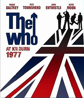 Обложка альбома The Who «The Who at Kilburn: 1977» (2008)