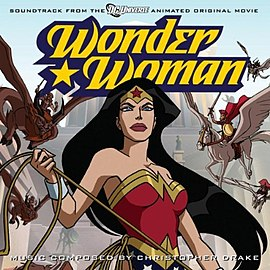 Обложка альбома Кристофер Дрейк «Wonder Woman:Soundtrack from the DC Universe Animated Original Movie[7][8]» ()