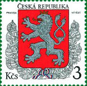 Stamp Czech Republic 1 1993.jpg