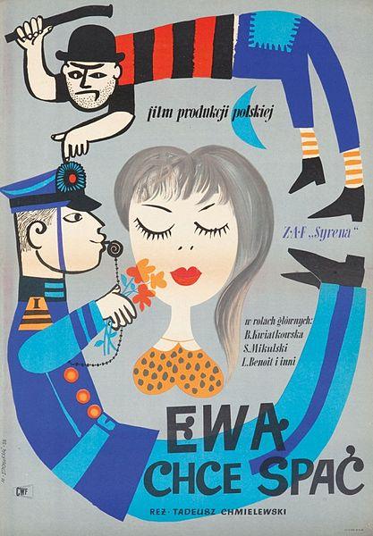 Ева хочет спать 1957 ewa chce spac  советский