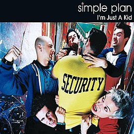 Обложка сингла Simple Plan «I'm Just a Kid» (2002)