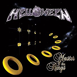 Обложка альбома Helloween «Master of the Rings» (1994)