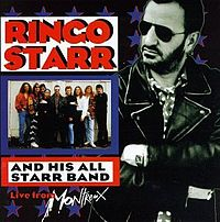 Обложка альбома Ринго Старра «Ringo Starr and His All Starr Band Volume 2: Live From Montreux» (1993)