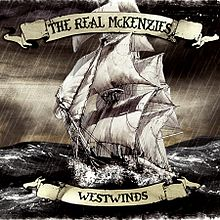 Обложка альбома The Real McKenzies «Westwinds» (2012)